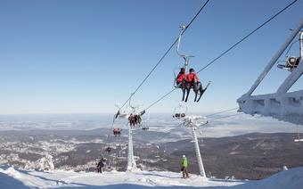 Szklarska Poręba narty: Na szczyt Szrenicy wjedziemy wyciągami krzesełkowymi Szrenica I i Szrenica II