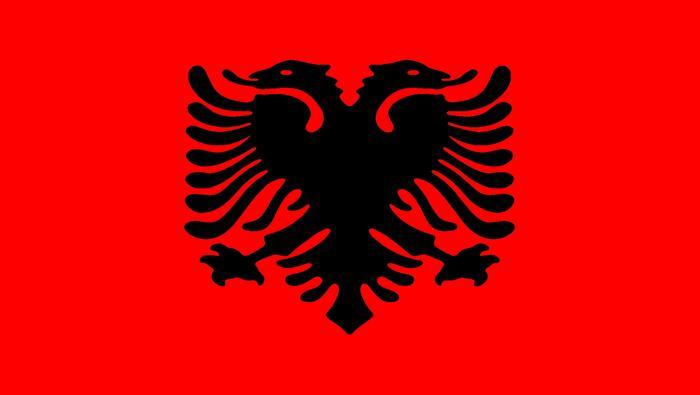 Albania, flaga